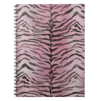Tiger Skin in Pink Rose Notebook