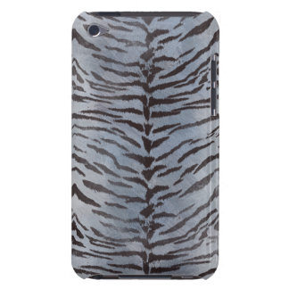 Tiger Skin in Silver Barely There iPod Covers