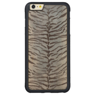 Tiger Skin in Silver blue Carved® Maple iPhone 6 Plus Bumper