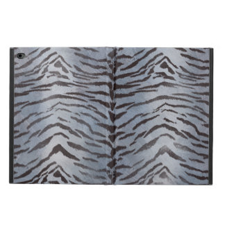 Tiger Skin in Silver blue Powis iPad Air 2 Case