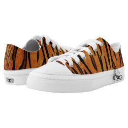 womens Skateboarding Shoes Canvas tiger skin pattern Sport Sneaker