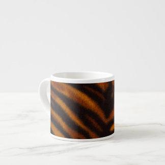 Tiger skin pattern espresso cup