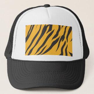Tiger Skin Pattern Trucker Hat