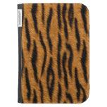 Tiger skin print design, Tiger stripes pattern Kindle 3 Covers
