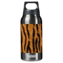 Tiger skin print design, Tiger stripes pattern Insulated Water Bottle