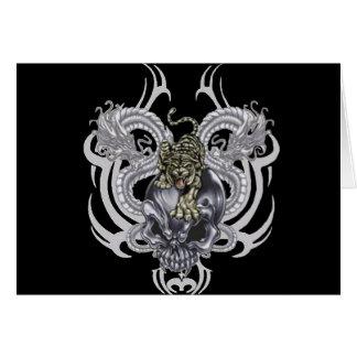 Tiger Skull Card