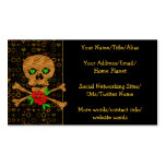 Tiger Skull Valentine Double-Sided Standard Business Cards (Pack Of 100)