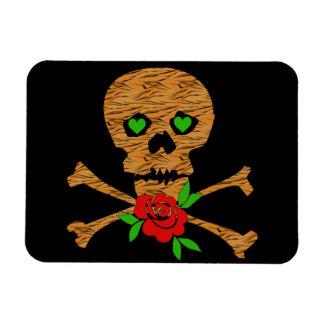 Tiger Skull Valentine Magnet