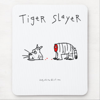 Tiger Slayer Mouse Pad