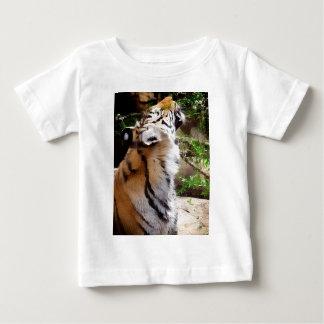 Tiger Smelling Flowers Infant T-shirt