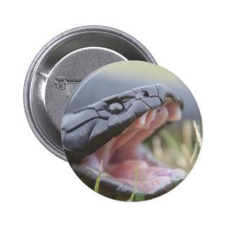 Tiger Snake 2 Inch Round Button