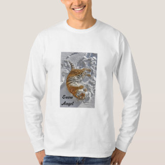 "Tiger ""Snow Angel"" Long Sleeve T Shirt"