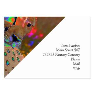 Tiger, special effect large business cards (Pack of 100)