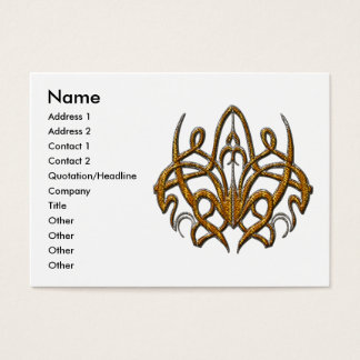 Tiger Spider Business Card