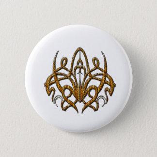Tiger Spider Pinback Button