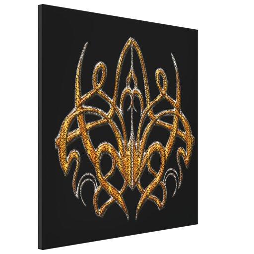 Tiger Spider Stretched Canvas Prints