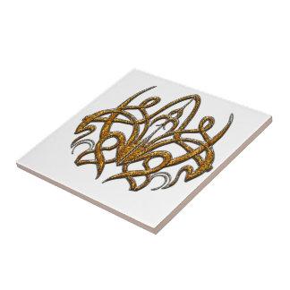 Tiger Spider Ceramic Tile