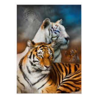 Tiger Spirit Fine Art Poster/Print Poster