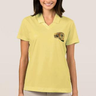 Tiger sports shirt piqué for woman