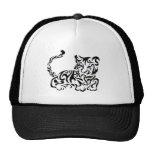 Tiger Squirls Mesh Hats