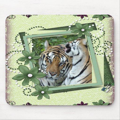 Tiger St. Patrick's Mousepads