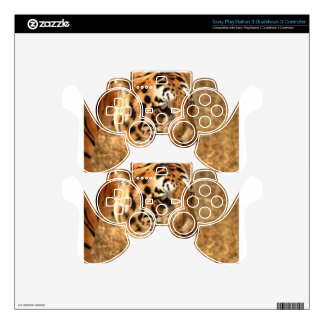 Tiger Stalking in India PS3 Controller Skins