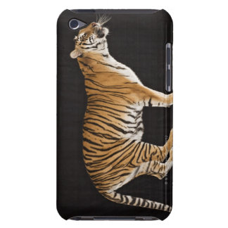 Tiger standing on platform iPod Case-Mate case