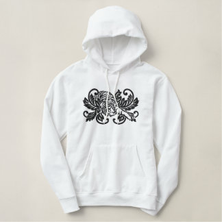 Tiger Stealth Damask Embroidered Hoodie