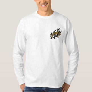 Tiger Stealth Embroidered Long Sleeve T-Shirt
