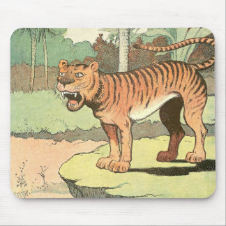 Tiger Storybook Mouse Pad