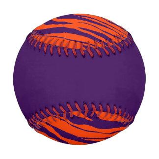 Tiger Strip Baseball-Purple Baseball