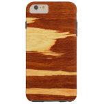Tiger Stripe Bamboo Wood Grain Look Tough iPhone 6 Plus Case