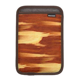 Tiger Stripe Bamboo Wood Grain Look iPad Mini Sleeve