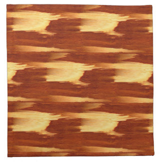 Tiger Stripe Bamboo Wood Grain Look Napkin