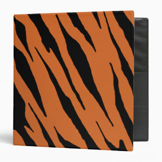 Tiger Stripe Binders