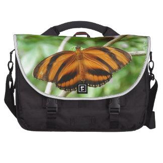 Tiger Stripe Butterfly Commuter Bags