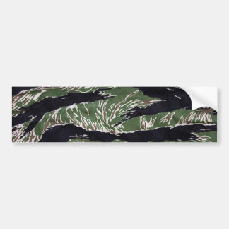 Tiger Stripe Camo Bumper Sticker