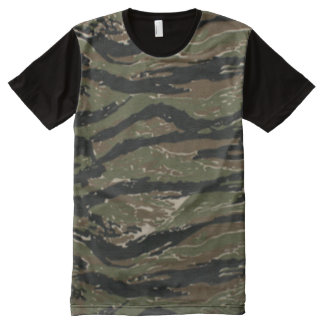 Tiger Stripe Camo Pattern Shirt