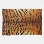 Tiger Stripe Fur Print Kitchen Towel