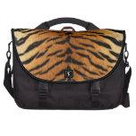Tiger Stripe Fur Print Laptop Bags