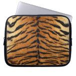 Tiger Stripe Fur Print Laptop Sleeves