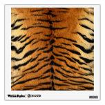 Tiger Stripe Fur Print Wall Stickers