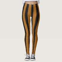 Tiger-Stripe Leggings
