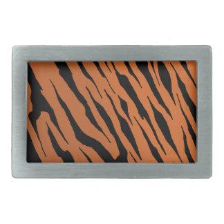 Tiger Stripe Metal Belt Buckle
