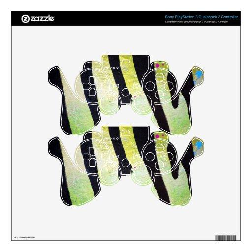 Tiger-stripe-pattern1682 TIGER STRIPES PAINTING PA PS3 Controller Skins