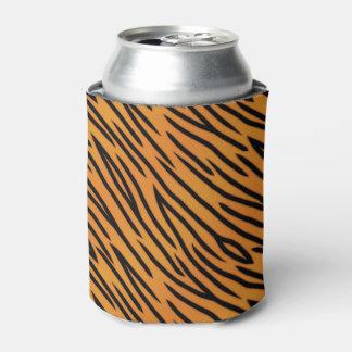 Tiger Stripe Pattern Can Cooler
