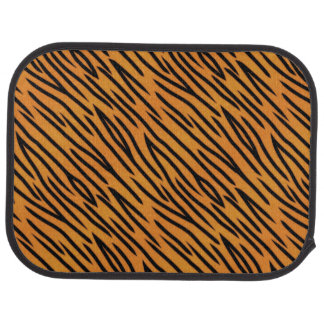 Tiger Stripe Pattern Car Mat