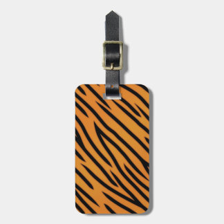 Tiger Stripe Pattern Tag For Luggage