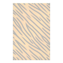 Tiger Stripe Pattern Stationery