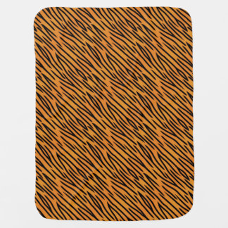 Tiger Stripe Pattern Swaddle Blanket